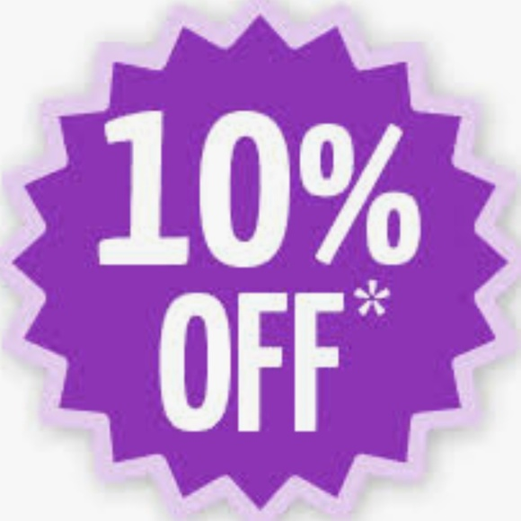 Other - At least 10% off a bundle!